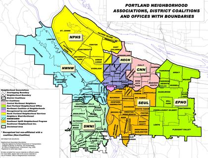 Citywide Neighborhoods Map